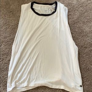 American Eagle soft and sexy cut off top